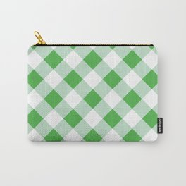 Gingham - Green Carry-All Pouch