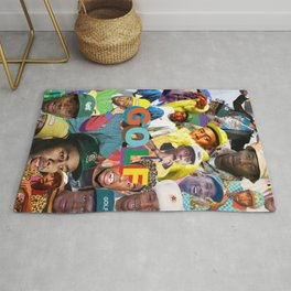collage tyler the head Rug