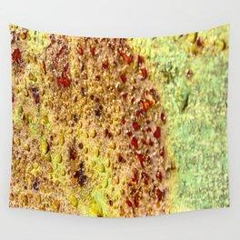 Weathered Bridge Railing rustic decor Wall Tapestry