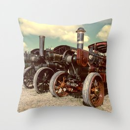 Filtered Steam Throw Pillow