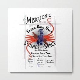 Miskatonic Elder Gods Gala Metal Print