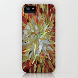 Hothouse Flower- 3D Decoupage iPhone Case