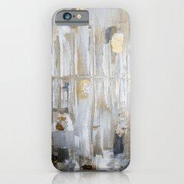 Metallic Abstract iPhone Case