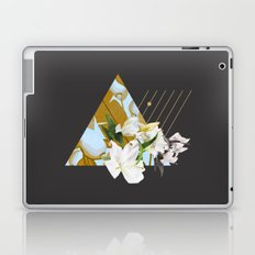 Tropical Flowers & Geometry Laptop & iPad Skin