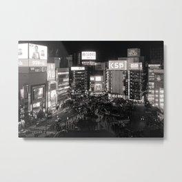 上から新宿 Metal Print