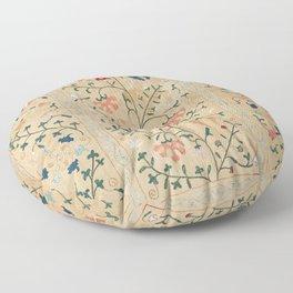 Uzbekistan Suzani Nim Embroidery Print Floor Pillow