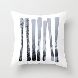 Morrisey Skis | Ski Designs | DopeyArt Throw Pillow