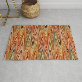 Zigzag Orange Rug