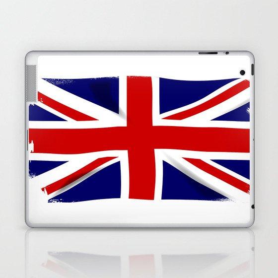 Union Jack Grunge Laptop & iPad Skin