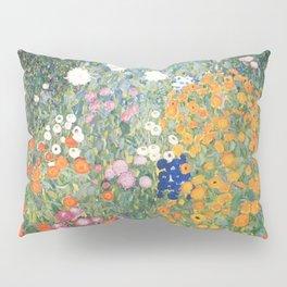 Gustav Klimt Flower Garden Pillow Sham