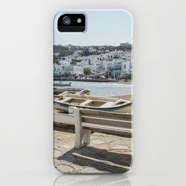 Mykonos, Greece iPhone Case