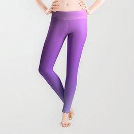 Lovely Pastel Gradient Pink Purple Blue Color Leggings