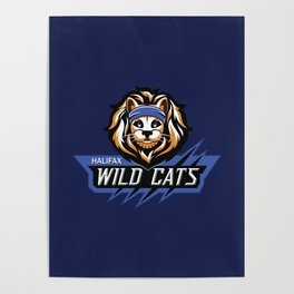TWRP Commander Meouch (Wild Cats) Poster