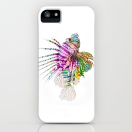 When I Dream of Lionfish iPhone Case