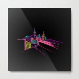 Vibrant City Art 44 Metal Print