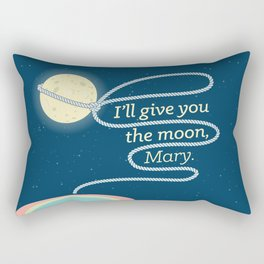 It's a Wonderful Life · I'll give you the moon, Mary Rectangular Pillow