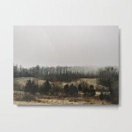 Foggy Virginia Metal Print