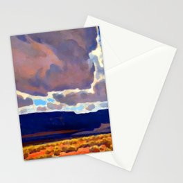 Maynard Dixon Mesas in Shadow Stationery Cards