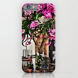 Pnk Garden in Paros Island iPhone Case