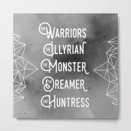 The Dreamers - ACOMAF Metal Print