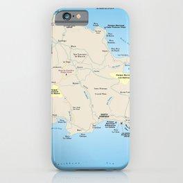 The Dominican Republic - República Dominicana - Hispaniola - Greater Antilles - Caribbean  665 iPhone Case