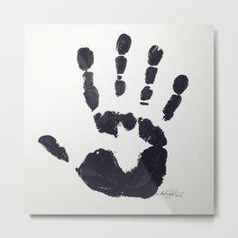 Handprint Metal Print