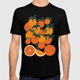 Orange Harvest - White T-shirt