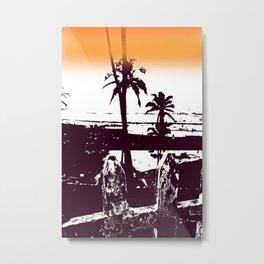 Goa palm trees Metal Print