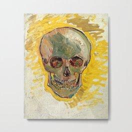 Skull by Vincent van Gogh, 1887 Metal Print