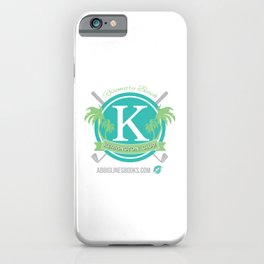 Rosemary Beach Kerrington Club iPhone Case