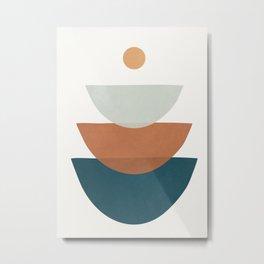 Minimal Shapes No.34 Metal Print
