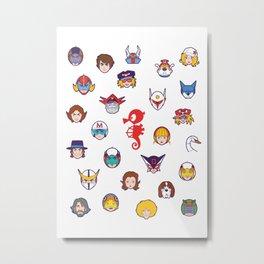 157 Tatsu Texture Metal Print