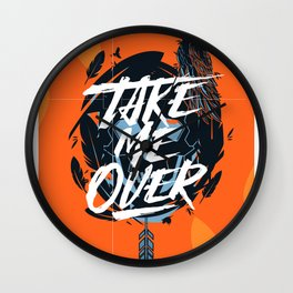 Take Me Over - Flume Wall Clock