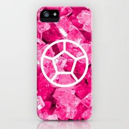 Rose Quartz Candy Gem iPhone Case