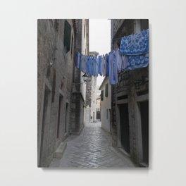Fresh laundry Metal Print