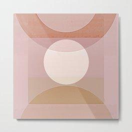 Bauhaus Moon Metal Print