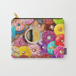 Donuts & Coffee Carry-All Pouch