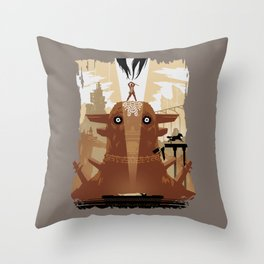 Shadow of the Colossus Tribute Throw Pillow
