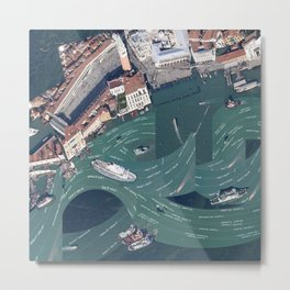Venice is not Amsterdam Metal Print