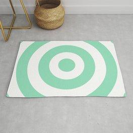 Target (Mint & White Pattern) Rug