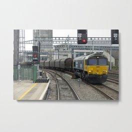 Cardiff Heavy Freight  Metal Print
