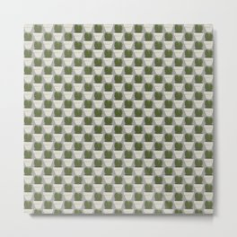 Heart Cacti (Hoya) Metal Print