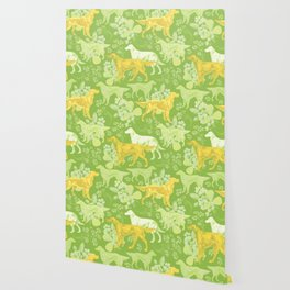 SETTERS ON THE MEADOW Wallpaper