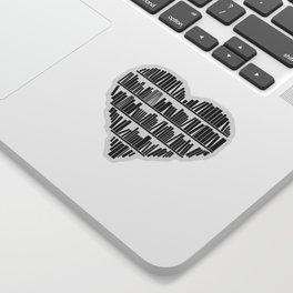 Book Lover II Sticker