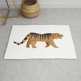 Origami Tiger Rug