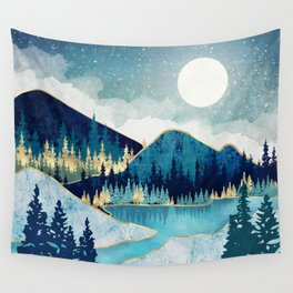Morning Stars Wall Tapestry