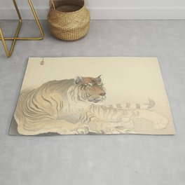 Tiger - Ohara Koson (1900 - 1930) Rug