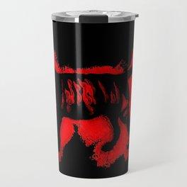 Tiger Stencil Travel Mug