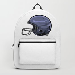 Gridiron Football Helmet Backpack