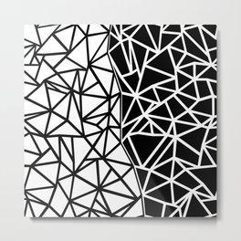 Ab Split Metal Print